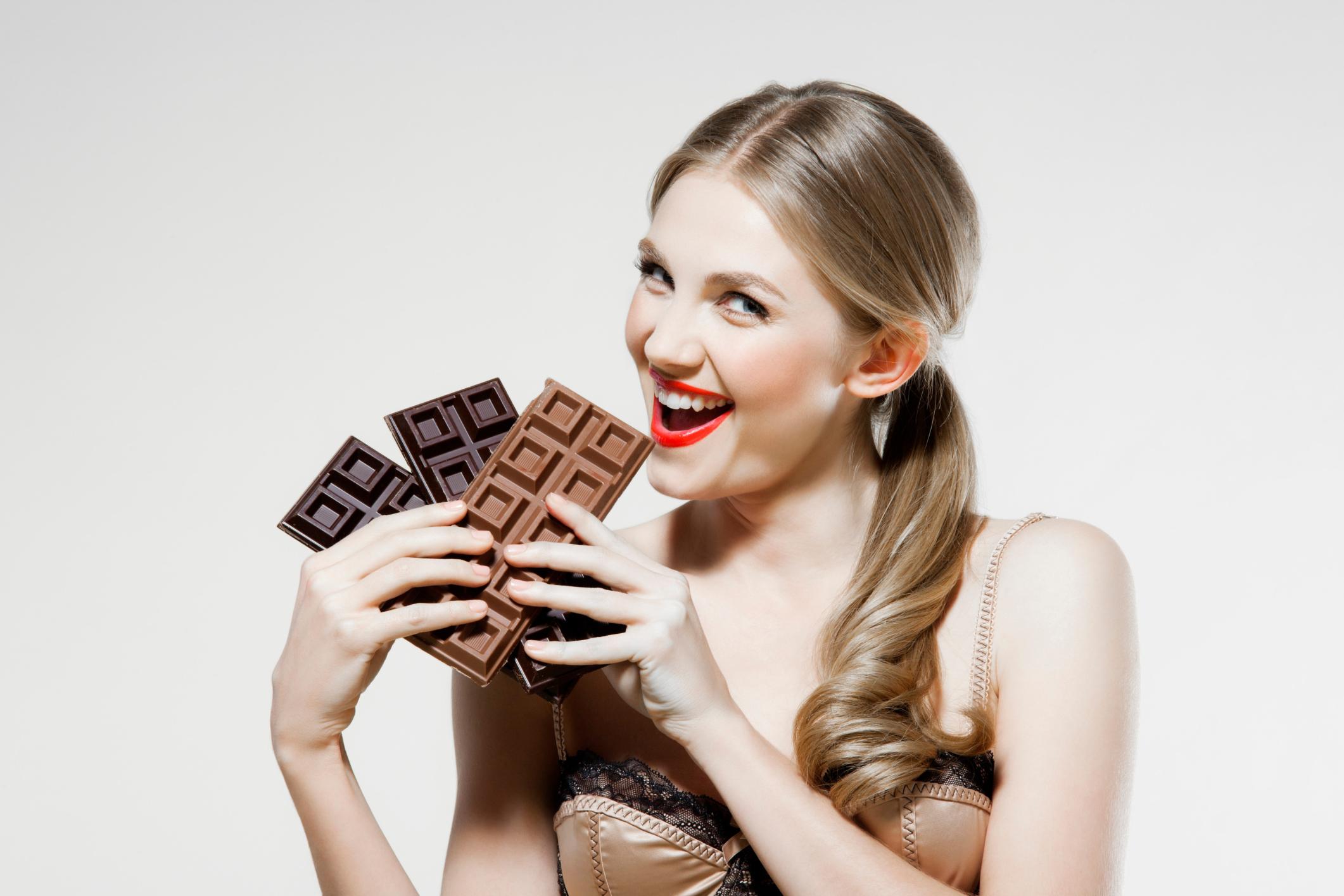 Норма употребления шоколада