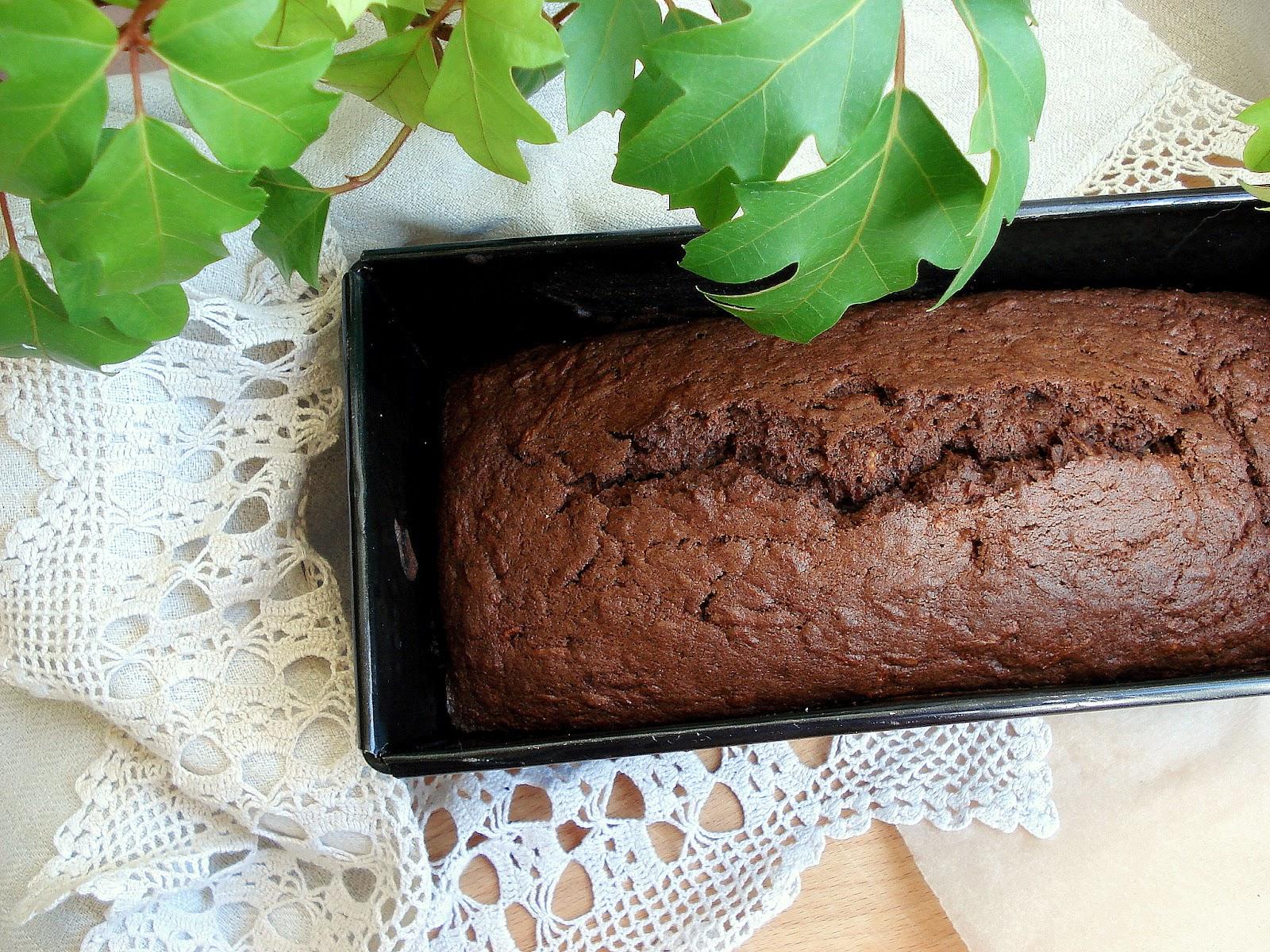 Быстрый шоколадный кекс в духовке