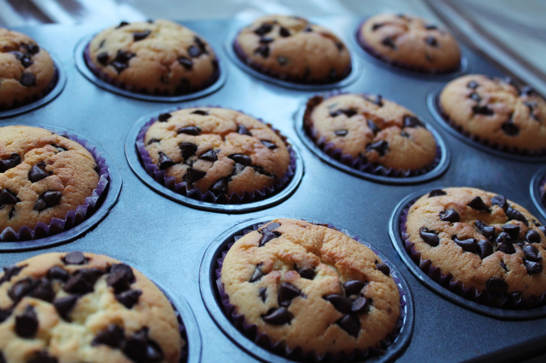 Кекс с орехами и шоколадной крошкой в духовке - рецепт пошаговый с фото