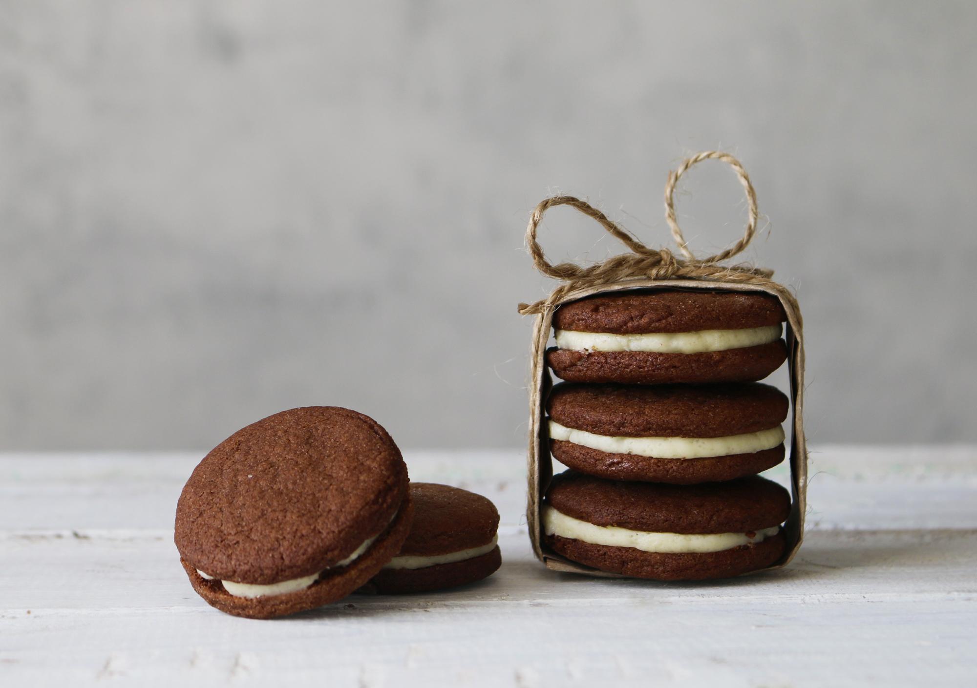 Домашнее печенье «Орео»