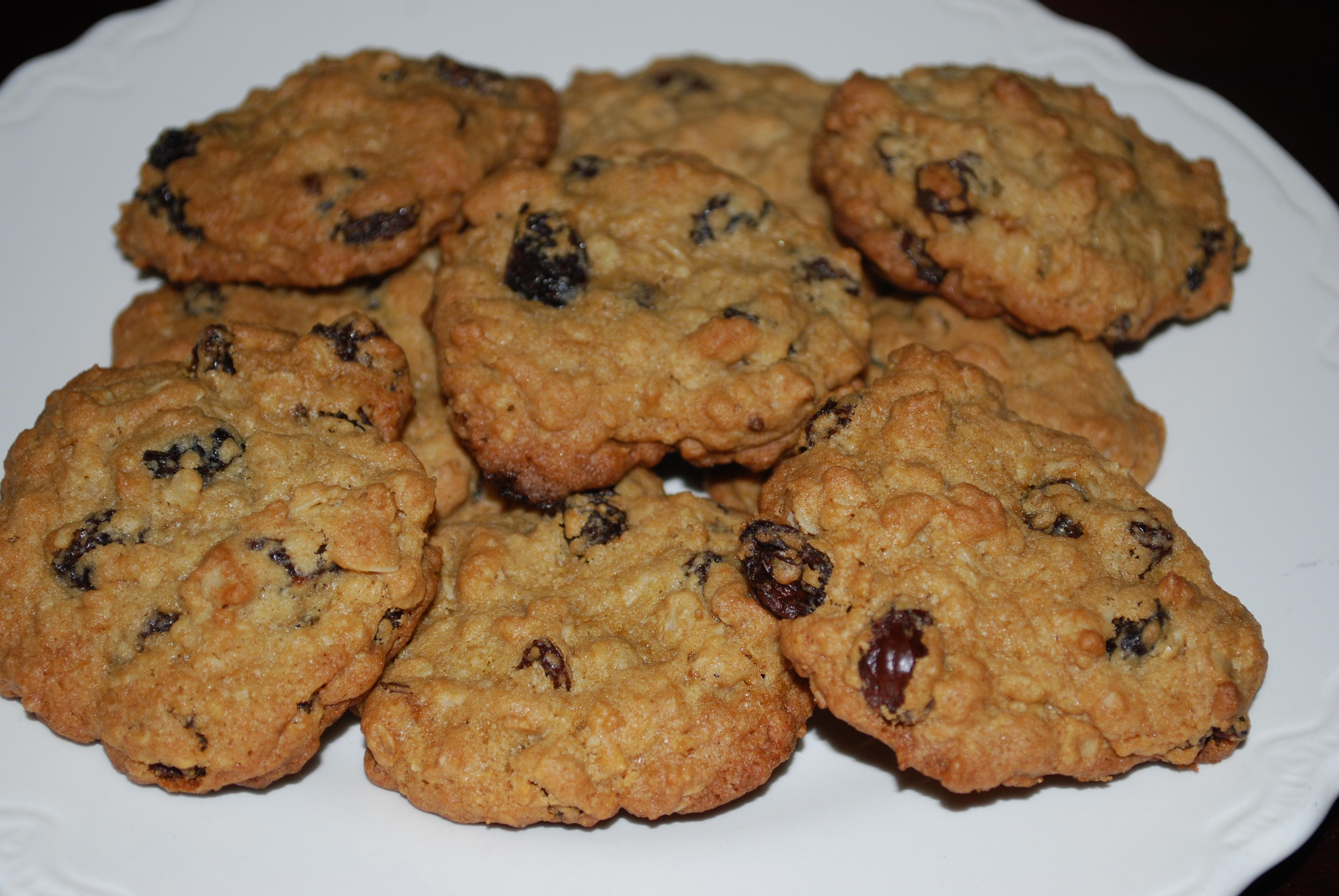 Овсяное печенье с шоколадной крошкой