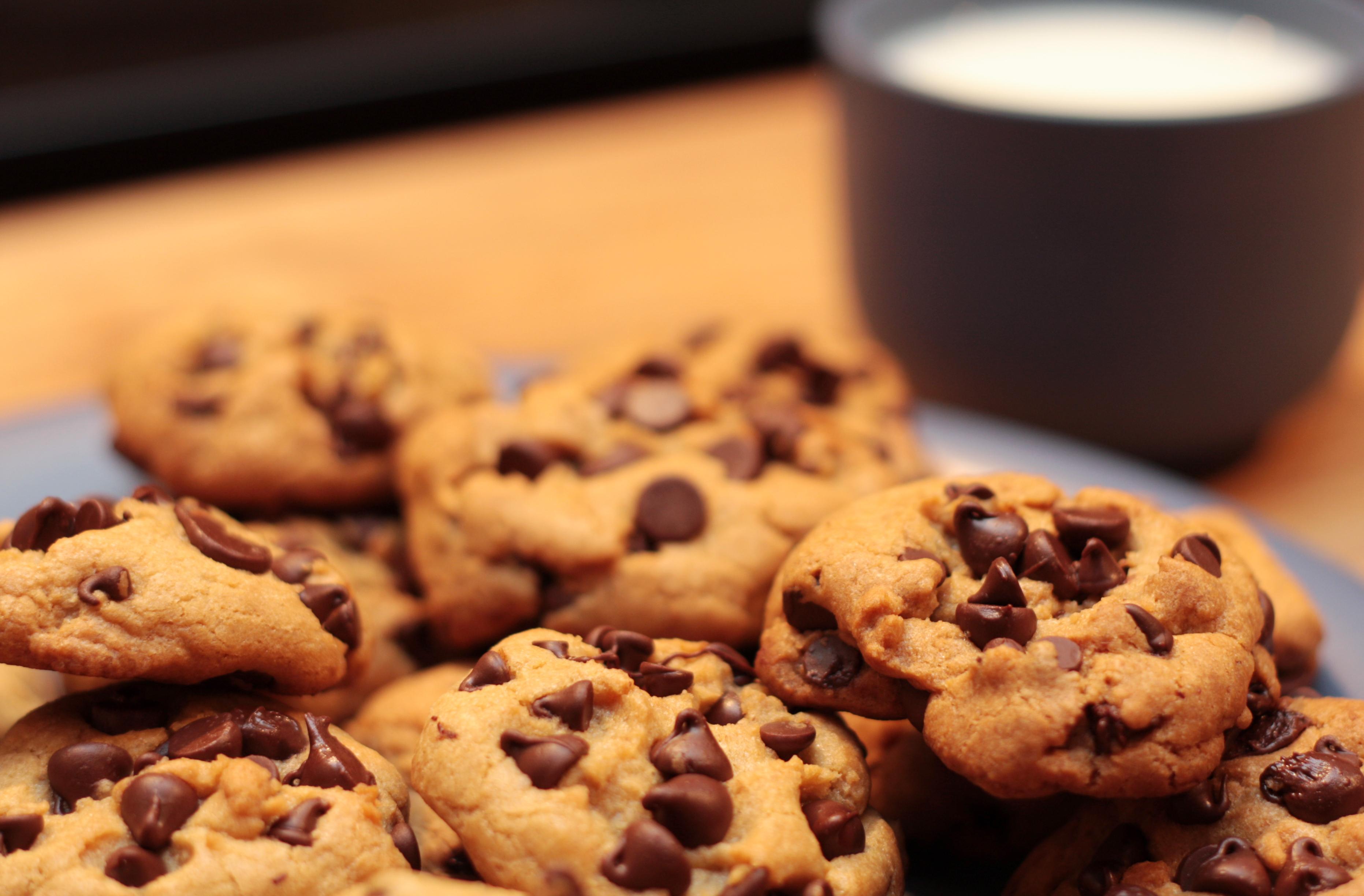 Овсяное печенье с шоколадными каплями