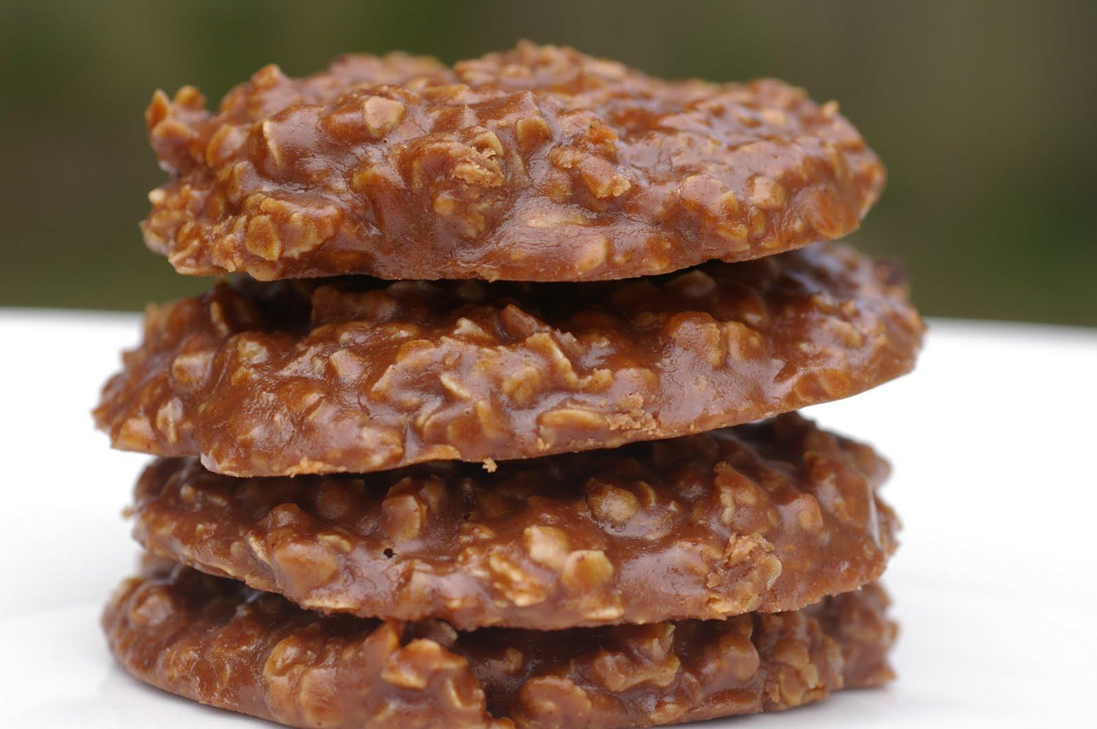 Шоколадно-овсяное печенье со сгущенкой