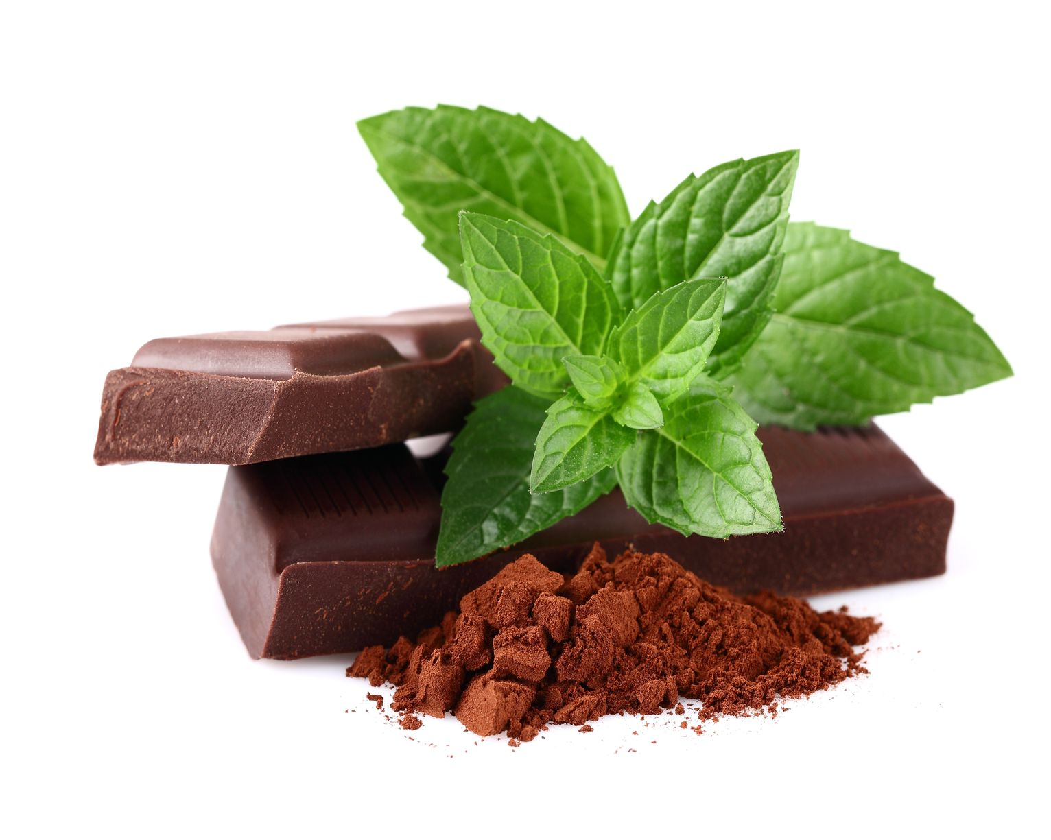 Шоколад с мятой