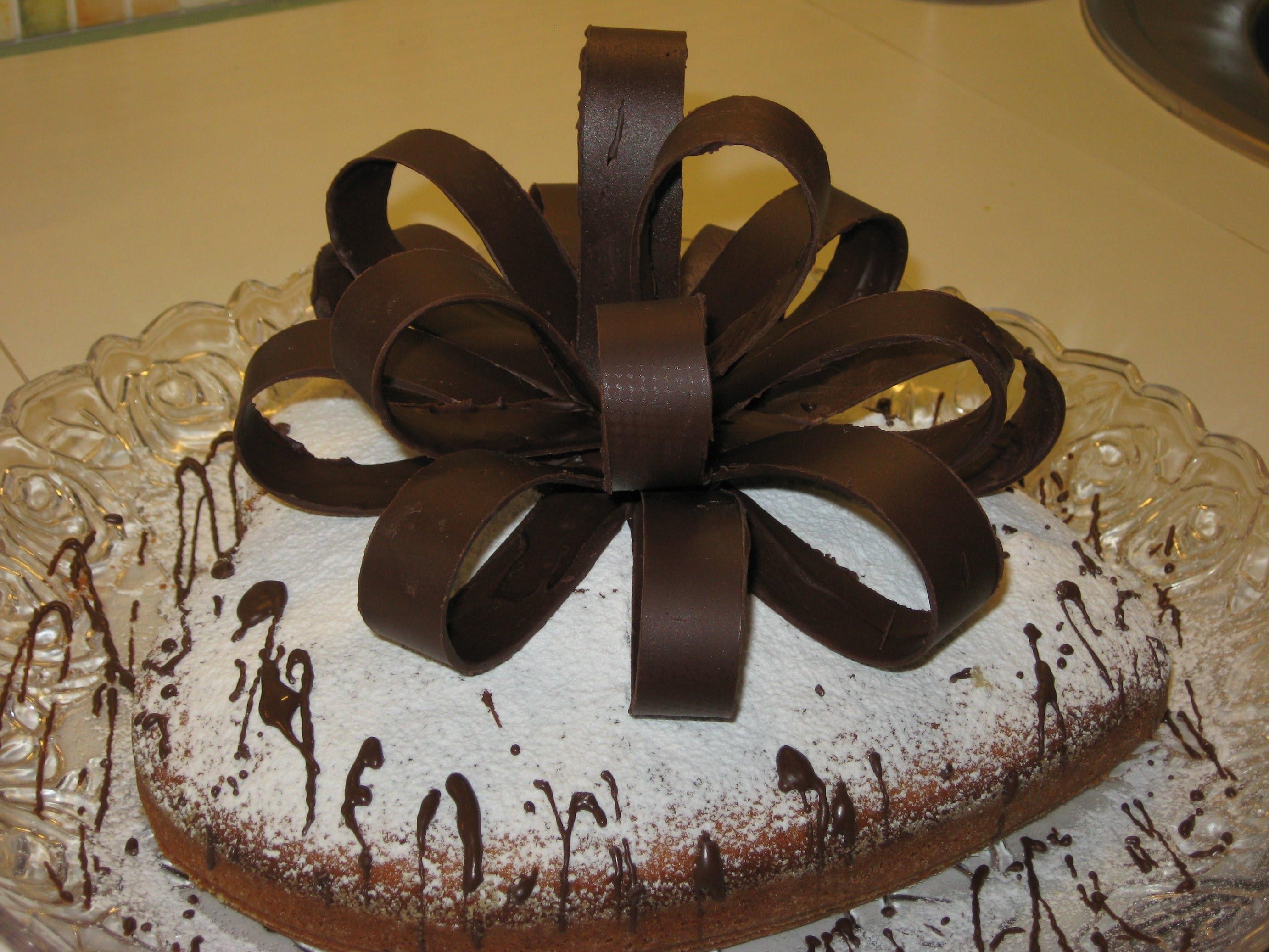 Шоколадный бант