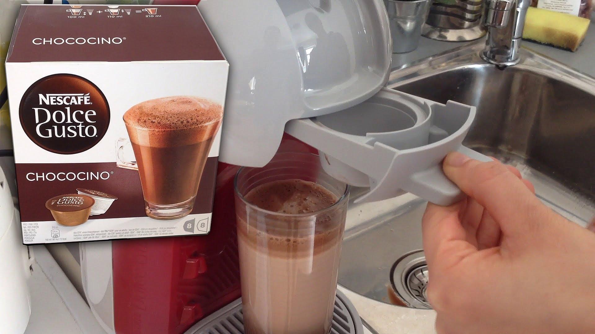 Капсульная кофеварка и капсулы с шоколадом