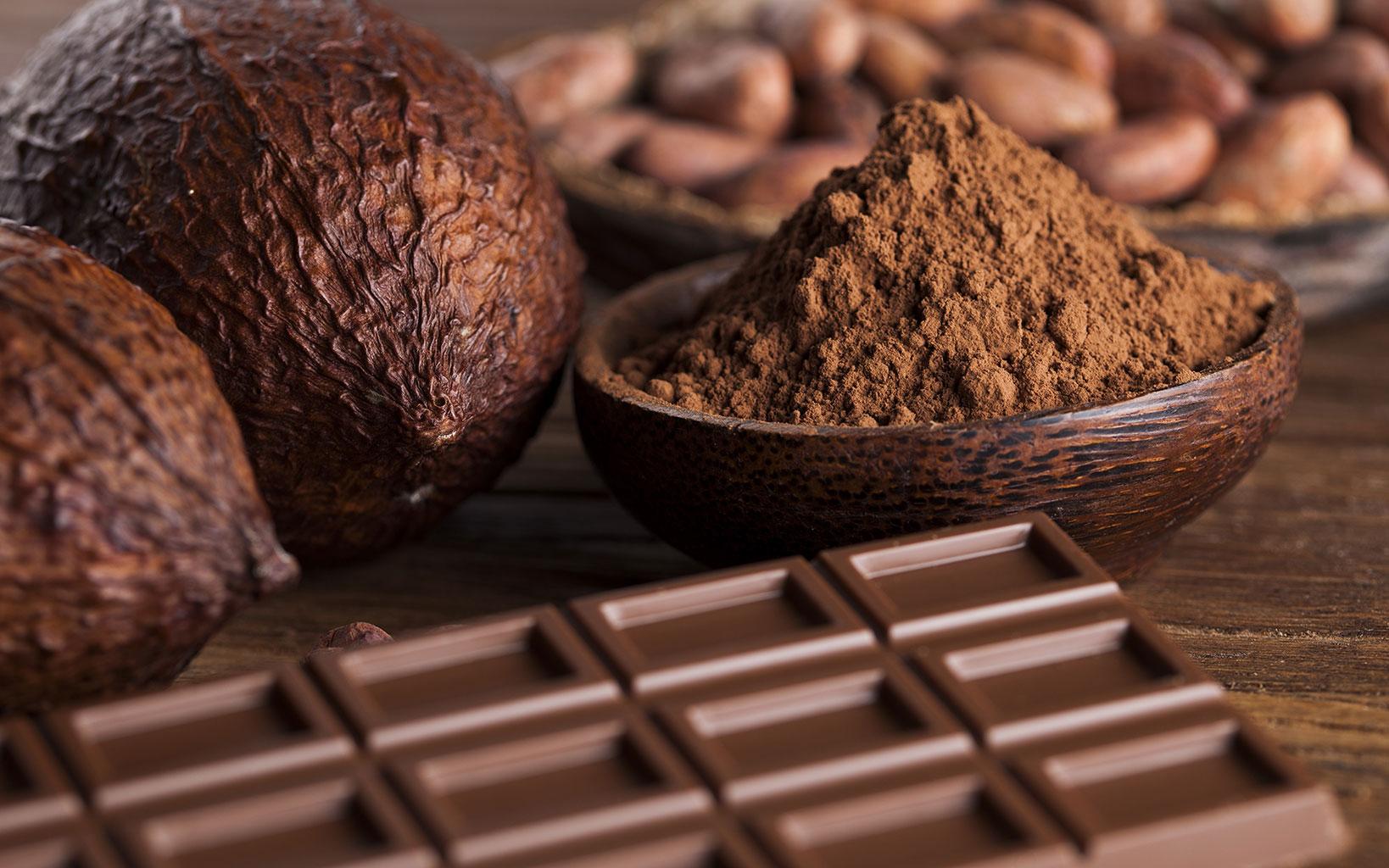 Содержание какао в шоколаде
