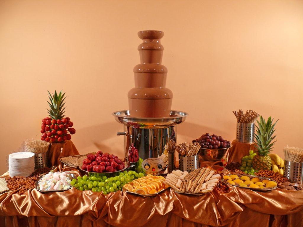 Фотографии шоколадного фонтана