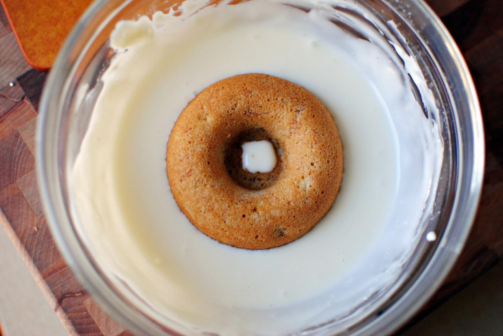Глазурь для пончиков из белого шоколада