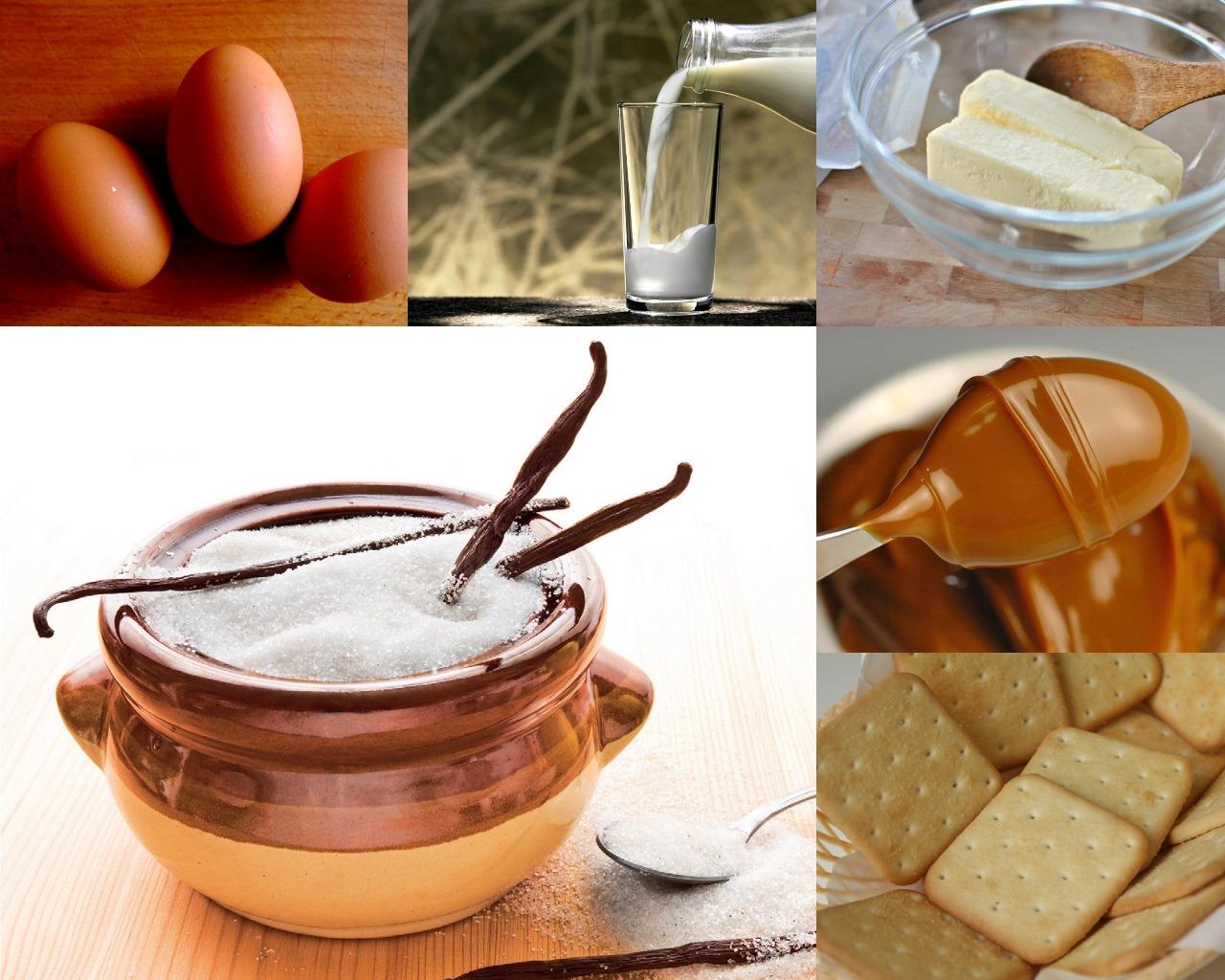Ингредиенты для шоколадного торта
