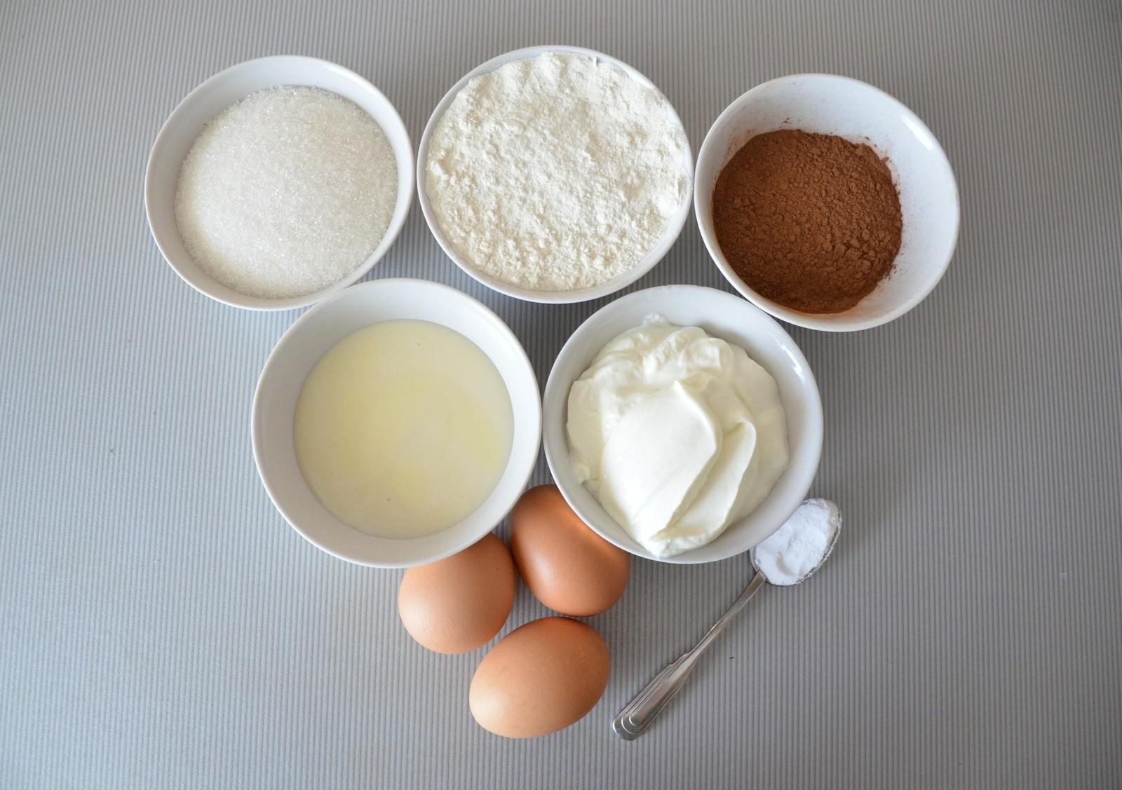 Ингредиенты для торта «Прага»