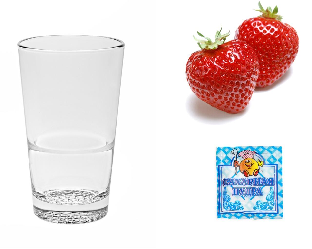 Ингредиенты для ягодной глазури