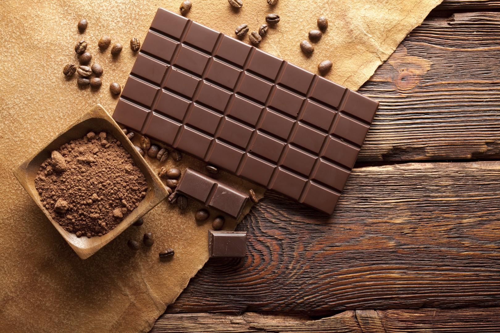 Шоколад и какао для глазури