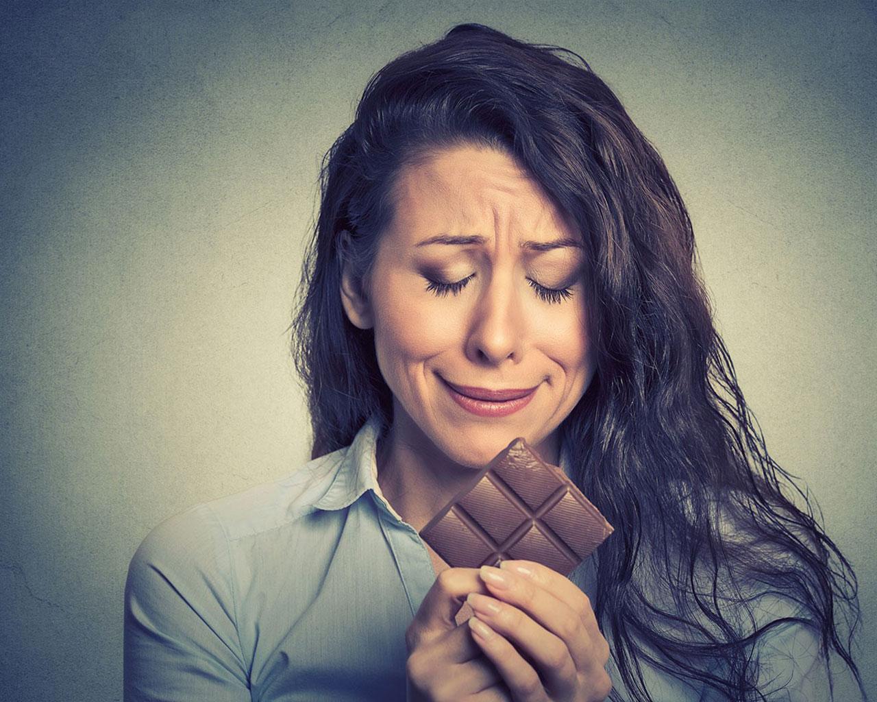 Шоколад снимает стресс