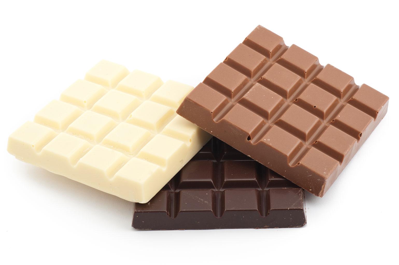 Виды шоколада для ганаша