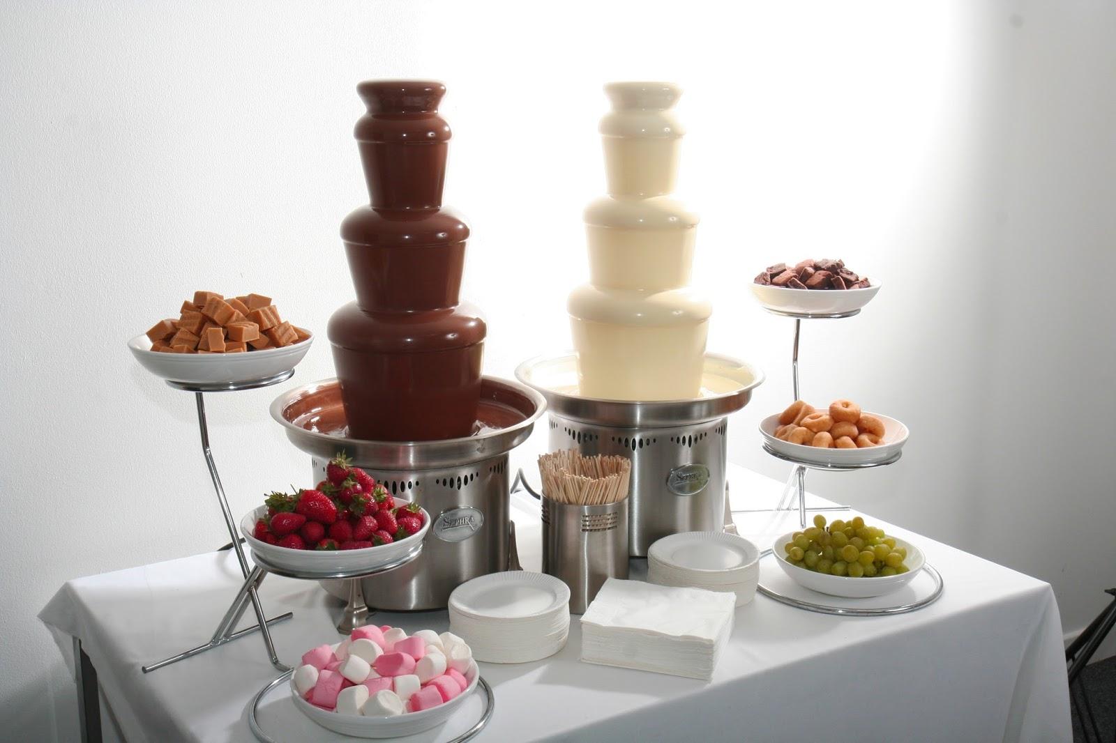 Шоколадный фонтан для детей рецепты 9