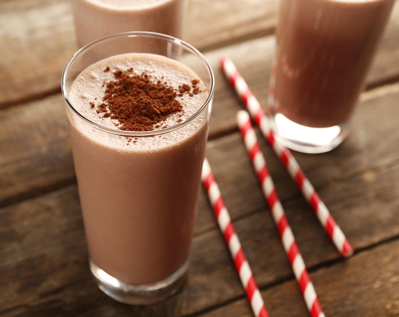Шоколадный коктейль с какао