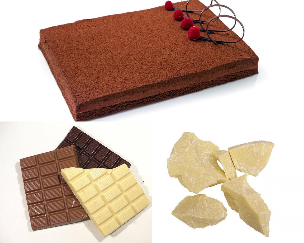 Ингредиенты для шоколадного велюра