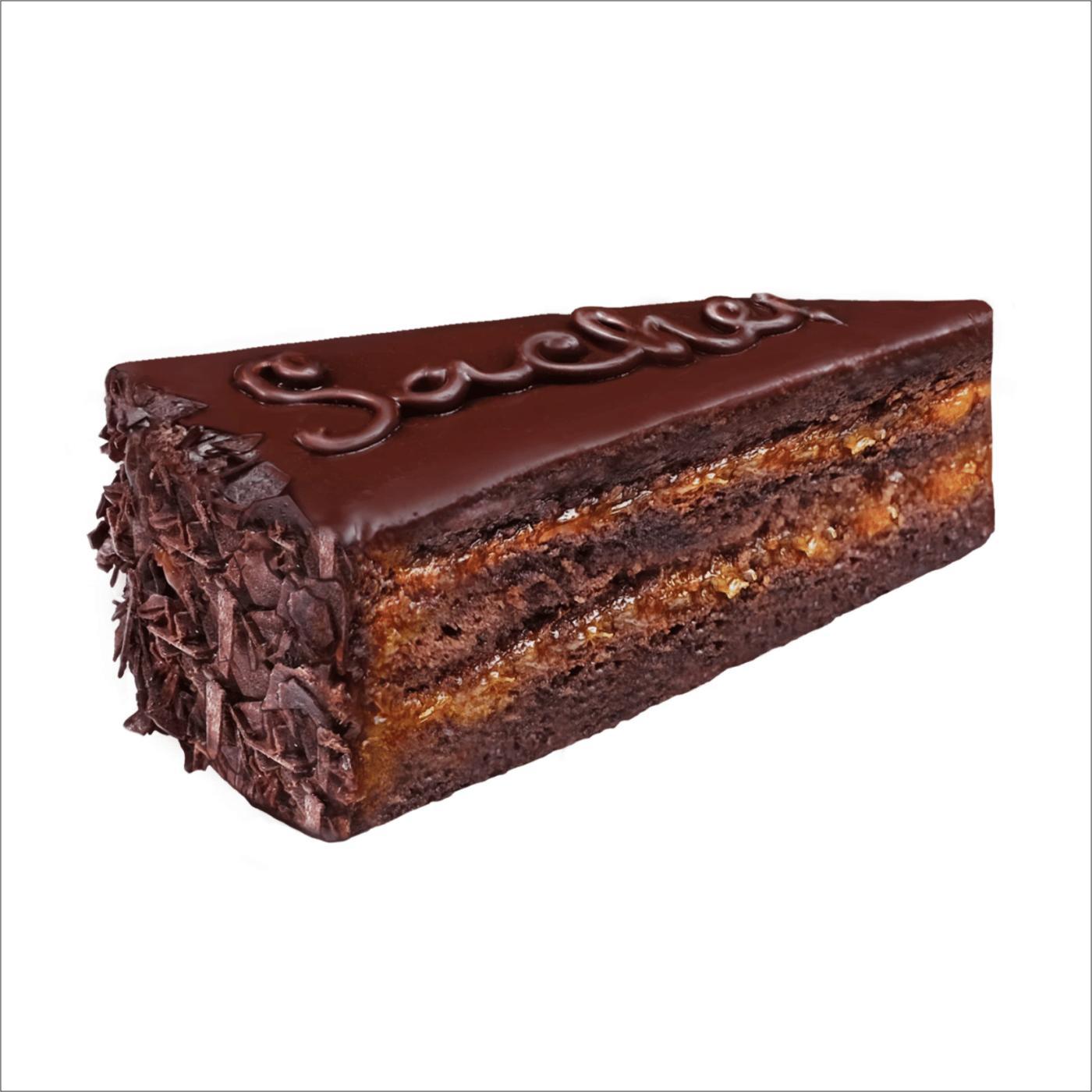 """Торт """"Захер"""" с абрикосовым джемом"""