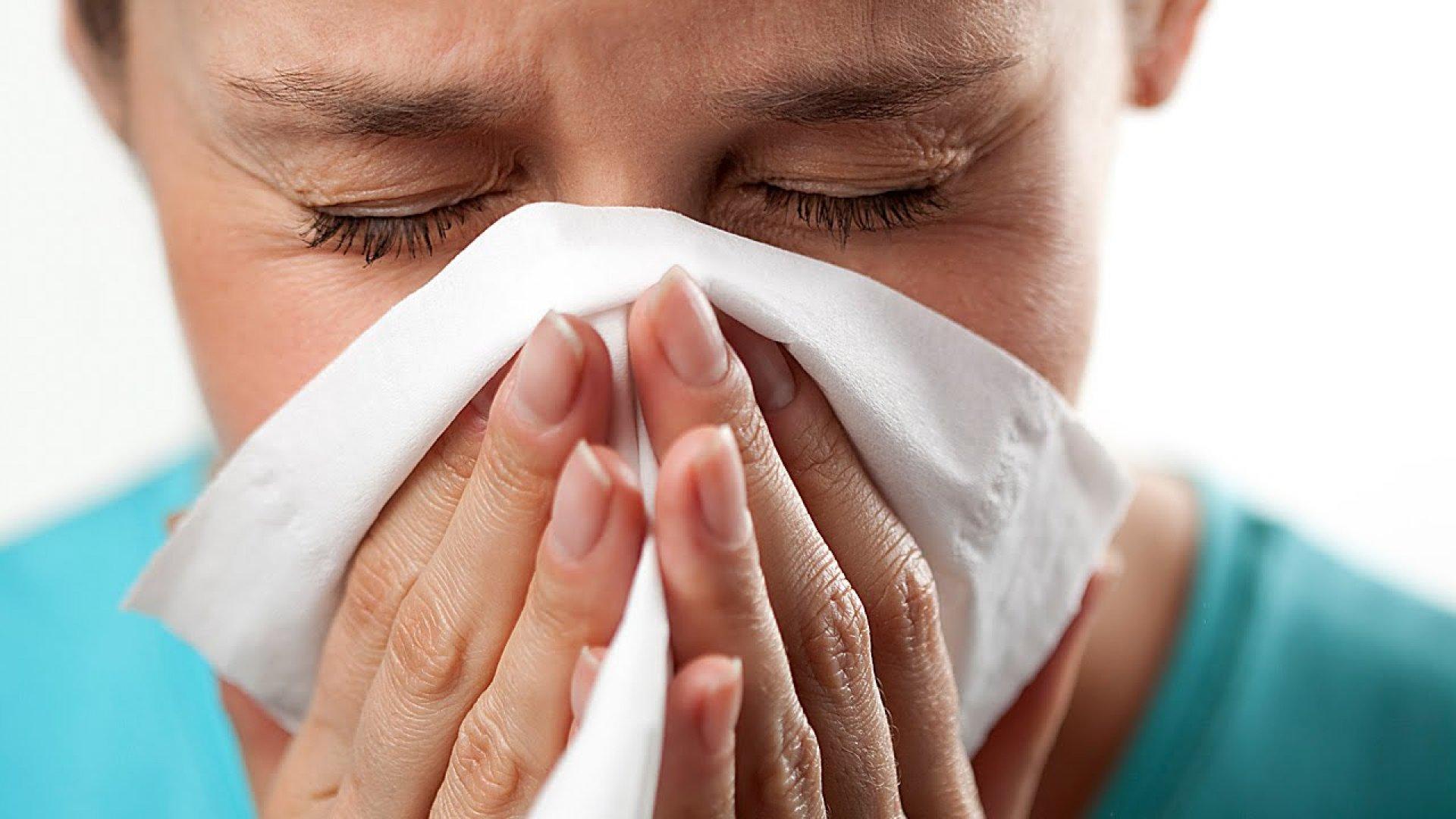 Выделения из носа - симптом аллергии