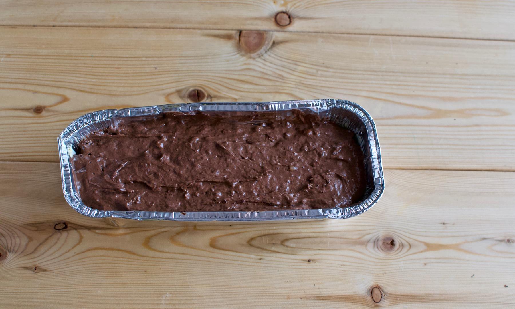 Вылить тесто в одну форму