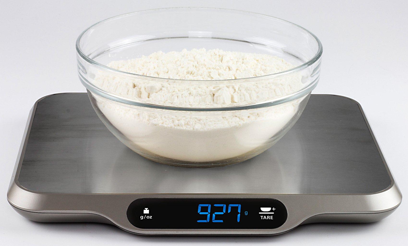 Измерять продукты кухонными весами
