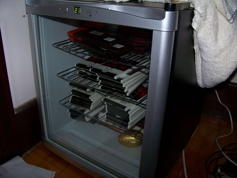 Хранение шоколада