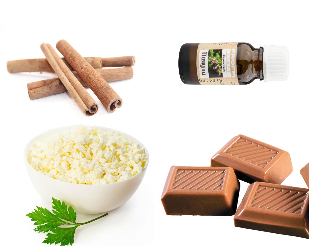 Ингредиенты для маски из молочного шоколада