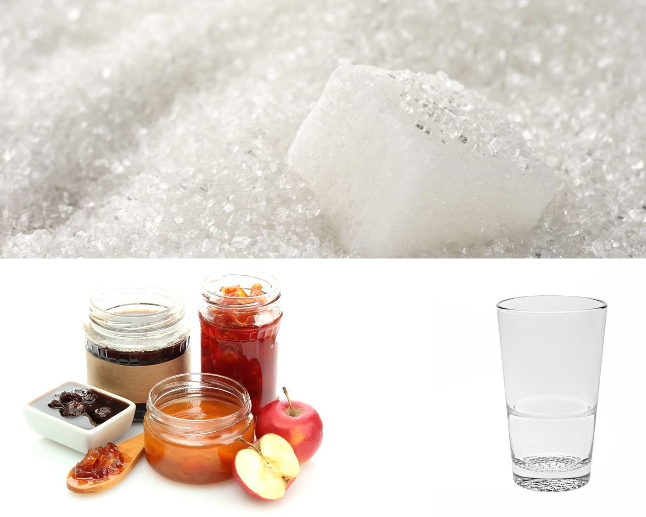 Ингредиенты для пропитки из варенья