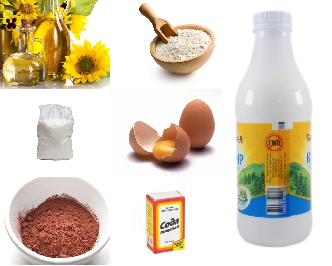 Ингредиенты для торта «Фантастика»