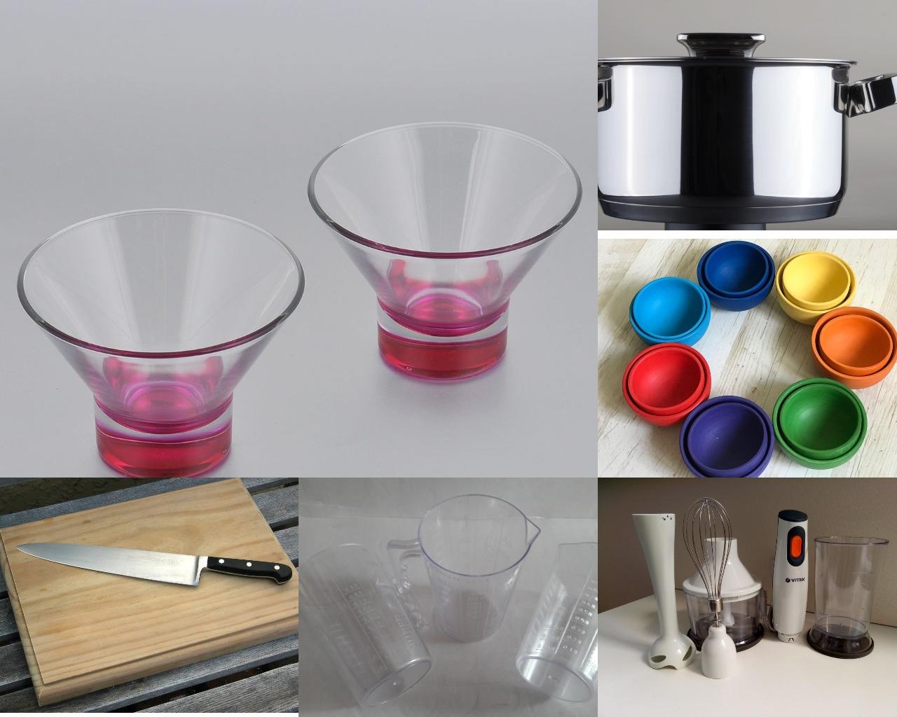 Инструменты для приготовления пудинга