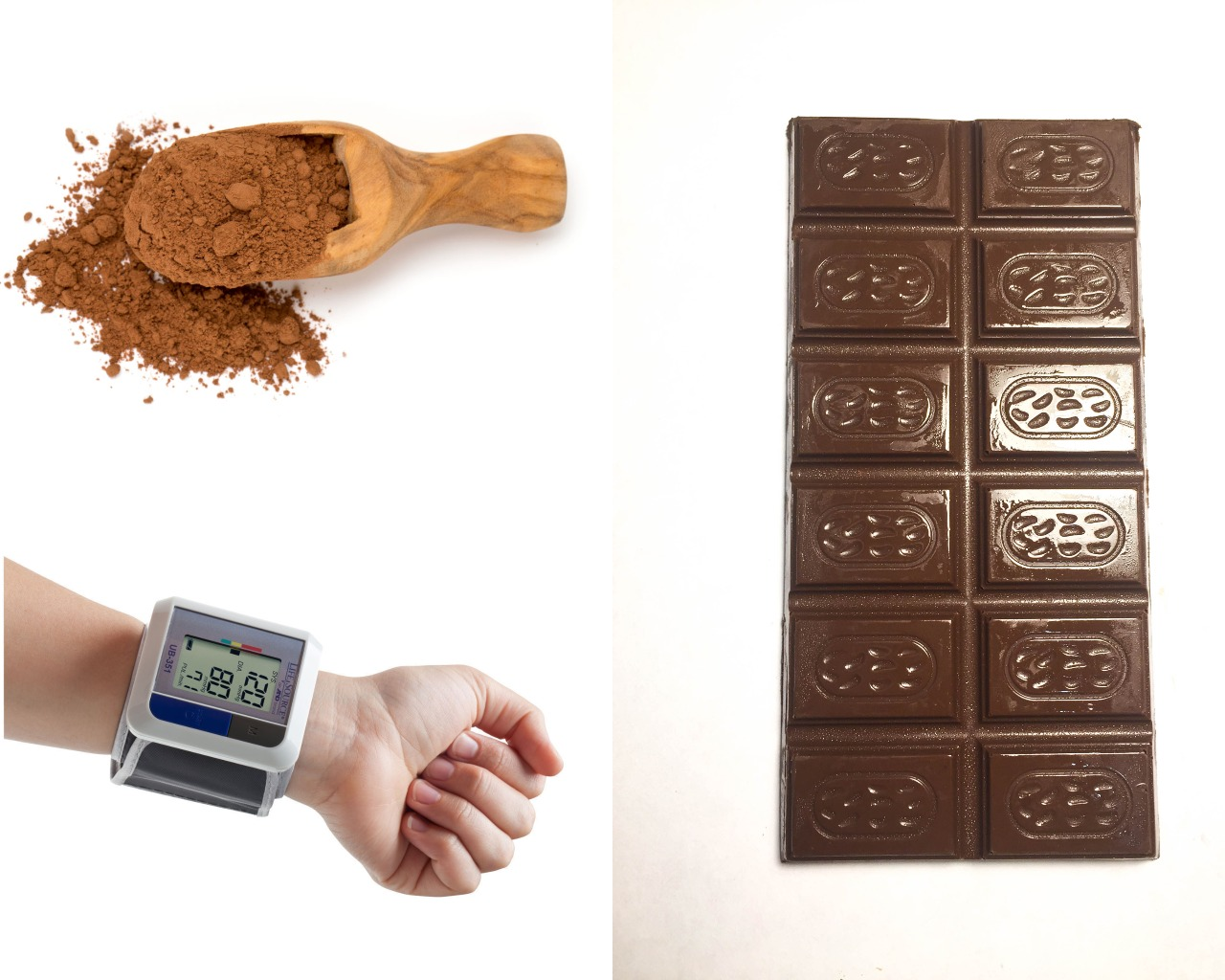 Влияние шоколада и содержащегося в составе какао на давление