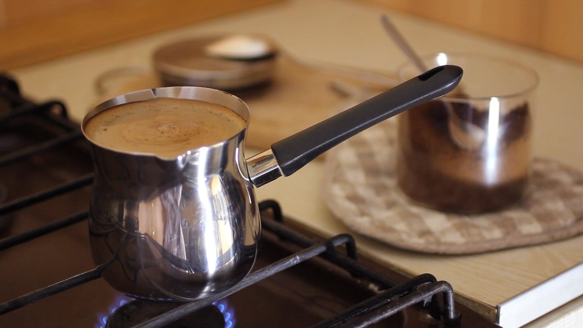 Приготовление кофейной пропитки