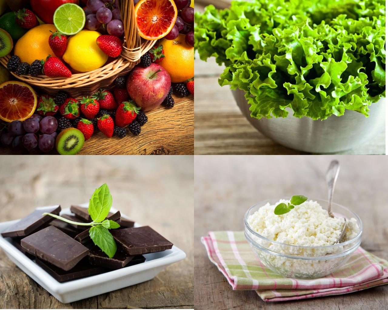 Продукты разрешенные во время шоколадной диеты