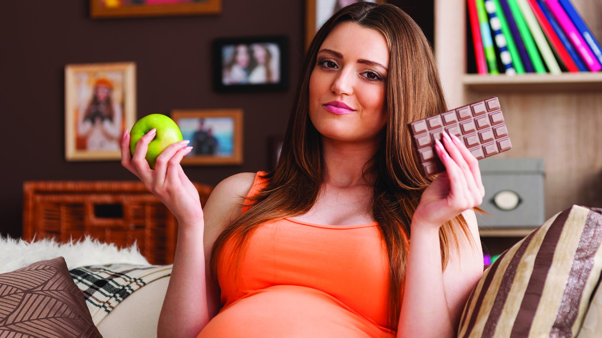 Шоколад во время беременности