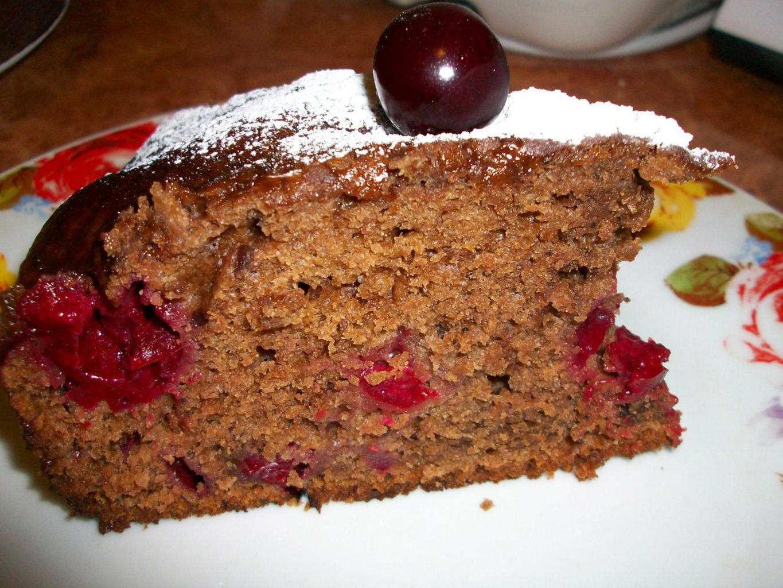 Кекс шоколадный на воде в мультиварке - рецепт пошаговый с фото