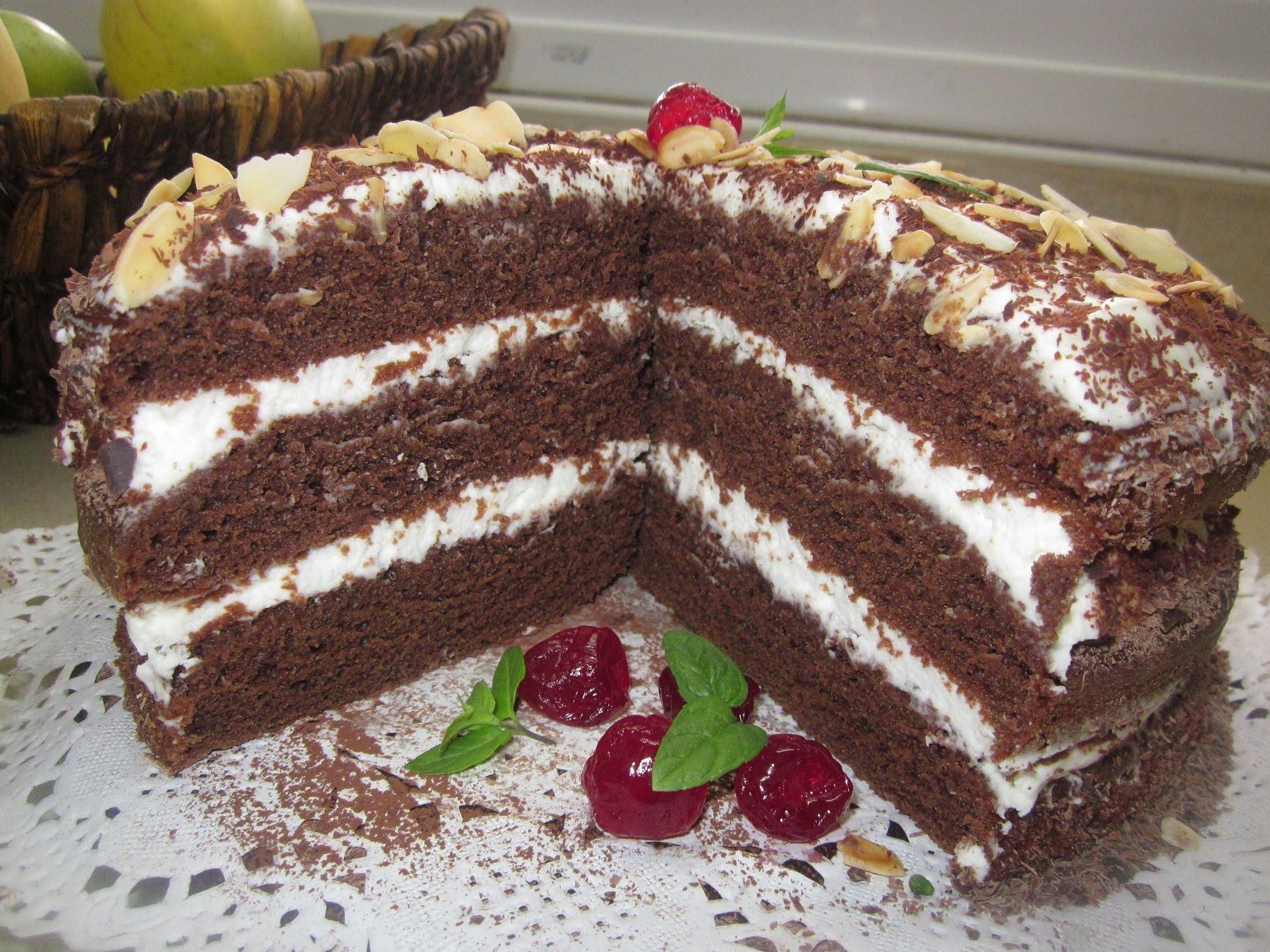 Рецепт тортов больших размеров пошаговый с фото