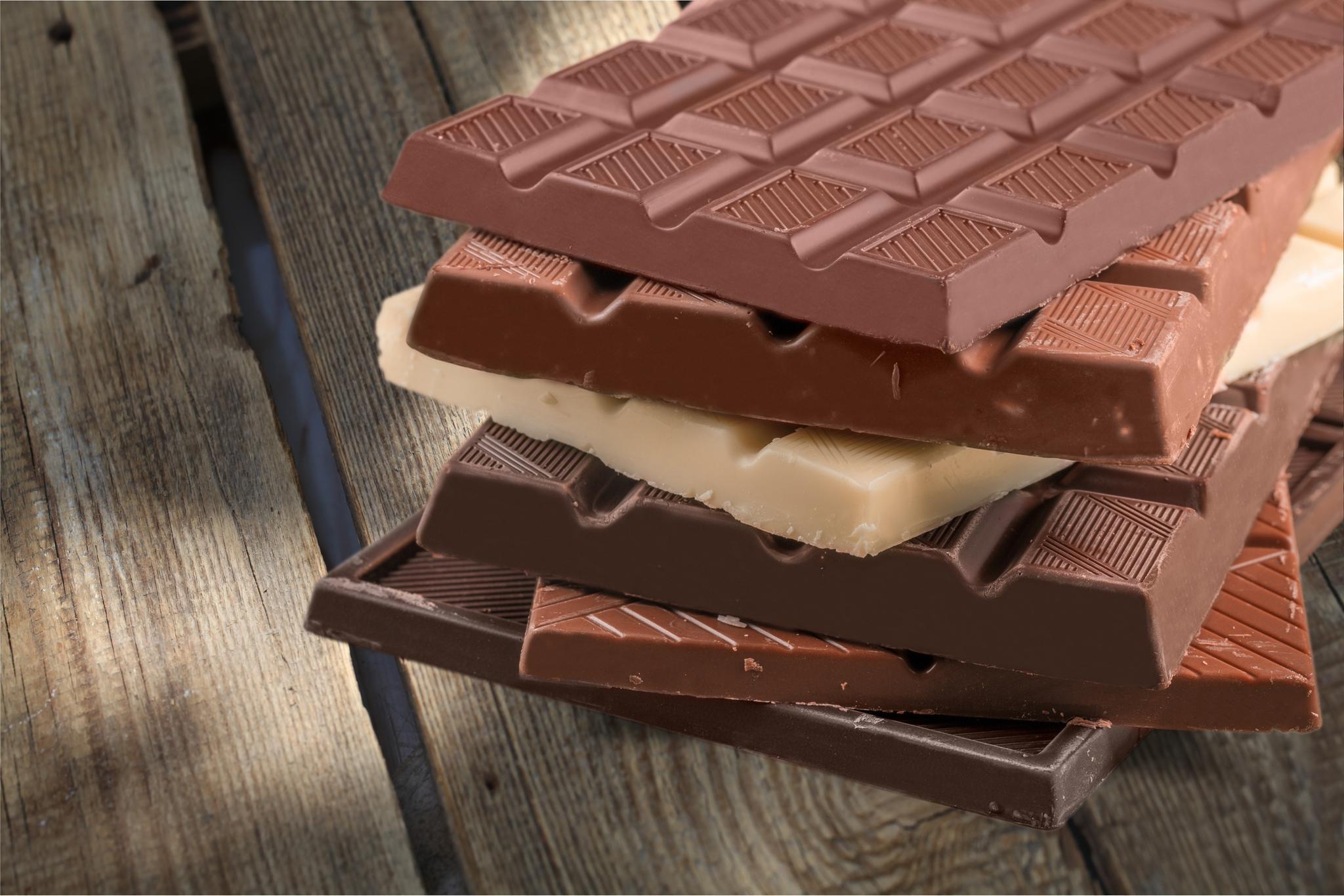 Шоколад разных видов