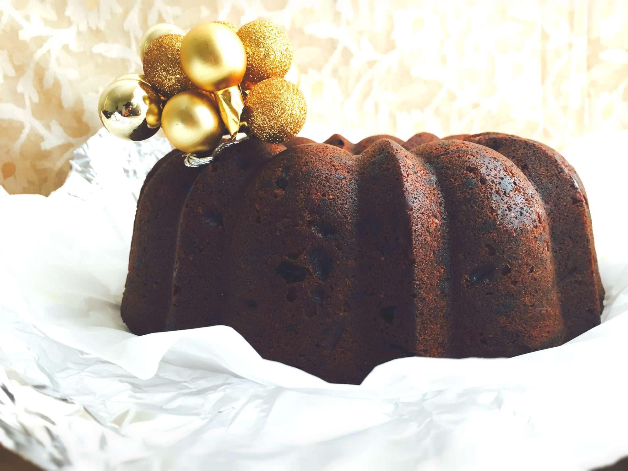 Шоколадный кекс на основе сметаны