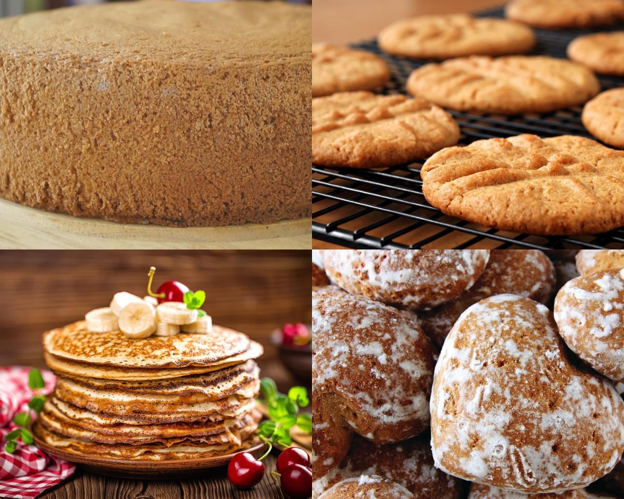Кондитерские изделия для торта без выпечки
