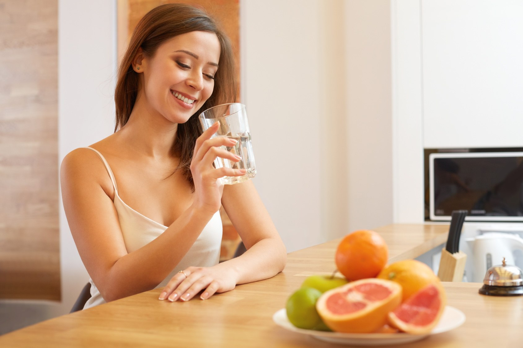 Пить много воды во время диеты