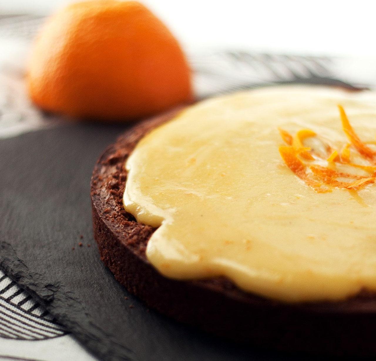 Приготовление шоколадно-апельсинового торта