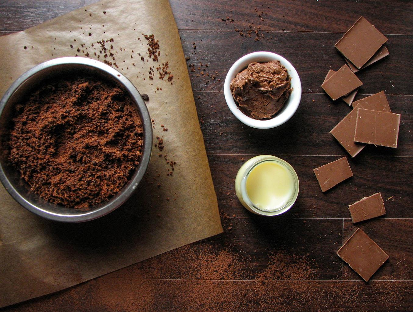 Шоколадный крем с добавлением сгущенки