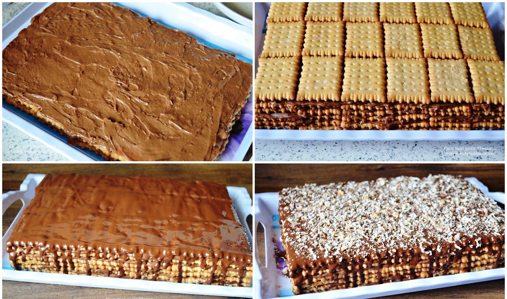 Приготовление торта без выпечки с кофейным ароматом